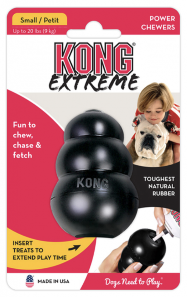 Monte & Co | Kong Extreme 2 in 1 Dog Toy | Black
