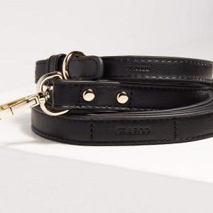 Monte & Co | Designer Dog Cat Lead in black by St Argo