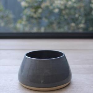 Monte & Co | Grey Long Eared Pet Dog Bowl by Benji + Moon