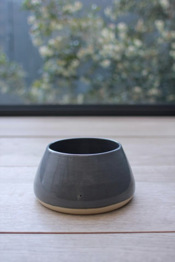Monte & Co | Grey Long Eared Pet Dog Bowl by Benji + Moon