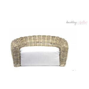 Monte & Co | Modern Wicker Dog Bed by Barkley & Bella