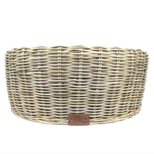 Monte & Co | Designer Rattan Round Dog Bed by Barkley & Bella