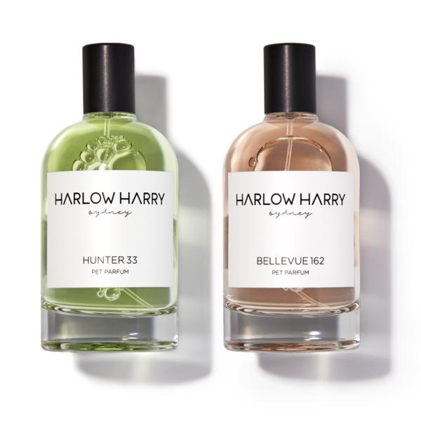 Monte & Co | Luxury Pet Parfum Set by Harlow Harry | 100mL Bellevue & Hunter Pair