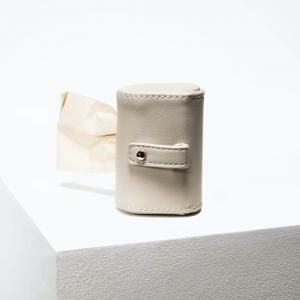 Designer Poop Bag Holder by St Argo | Taupe