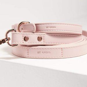 Monte & Co | Designer Pet Lead in Pale Pink by St Argo Melbourne