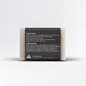 Monte & Co | Essential Dog Natural Oatmeal Sensitive Dog Shampoo Bar