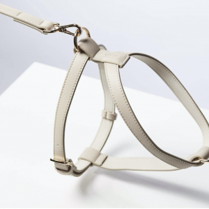 Monte & Co   Designer Dog Cat Harness in Taupe   by St Argo Melbourne