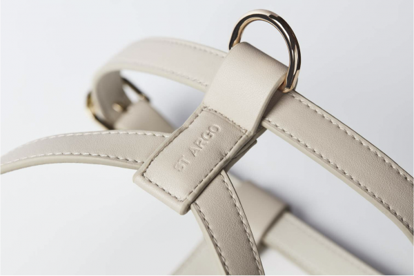 Monte & Co   Designer Pet Harness in Taupe   by St Argo