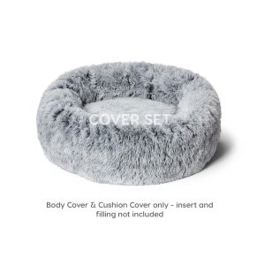 Monte & Co | Snooza Calming Cuddler Cover Set | Shimmering Silverfox