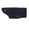 Monte & Co | Luxury Wool Bobble Chunky Knit Sweater in navy blue by Sebastian Say