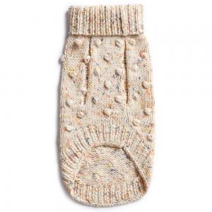 Monte & Co | Merino wool bobble knit dog jumper sweater in Speckle by Sebastian Says (bottom)