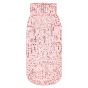 Monte & Co   Sebastian_Says_merino_wool_chunky_knit_sweater_cable_soft_pink