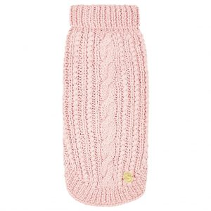 Monte & Co   Sebastian_Says_merino_wool_sweater_cable_soft_pink