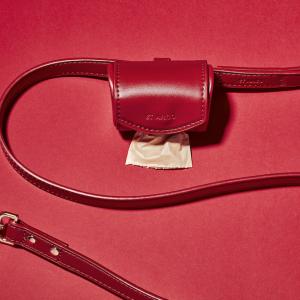 Monte & Co | Ruby Red Designer Poop Bag Holder by St Argo