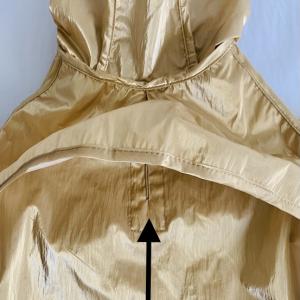 Monte & Co | Designer Raincoat Trench by Sebastian Says | Shimmering Gold