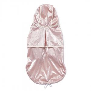 Monte & Co | Designer dog cat pet raincoat trench by Sebastian Says | Soft Pale Pink