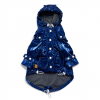 Monte & Co | Designer dog cat pet raincoat by Sebastian Says | Cobalt Blue