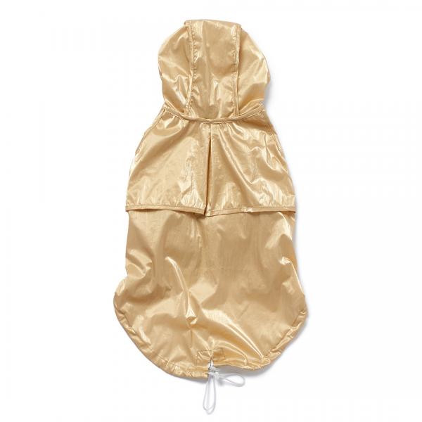 Monte & Co | Designer dog cat pet trench raincoat by Sebastian Says | Gold