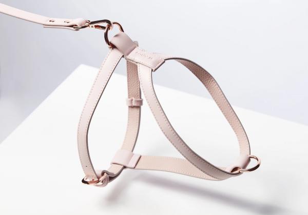 Monte & Co | Designer Dog Cat Harness by St Argo | Pale Pink